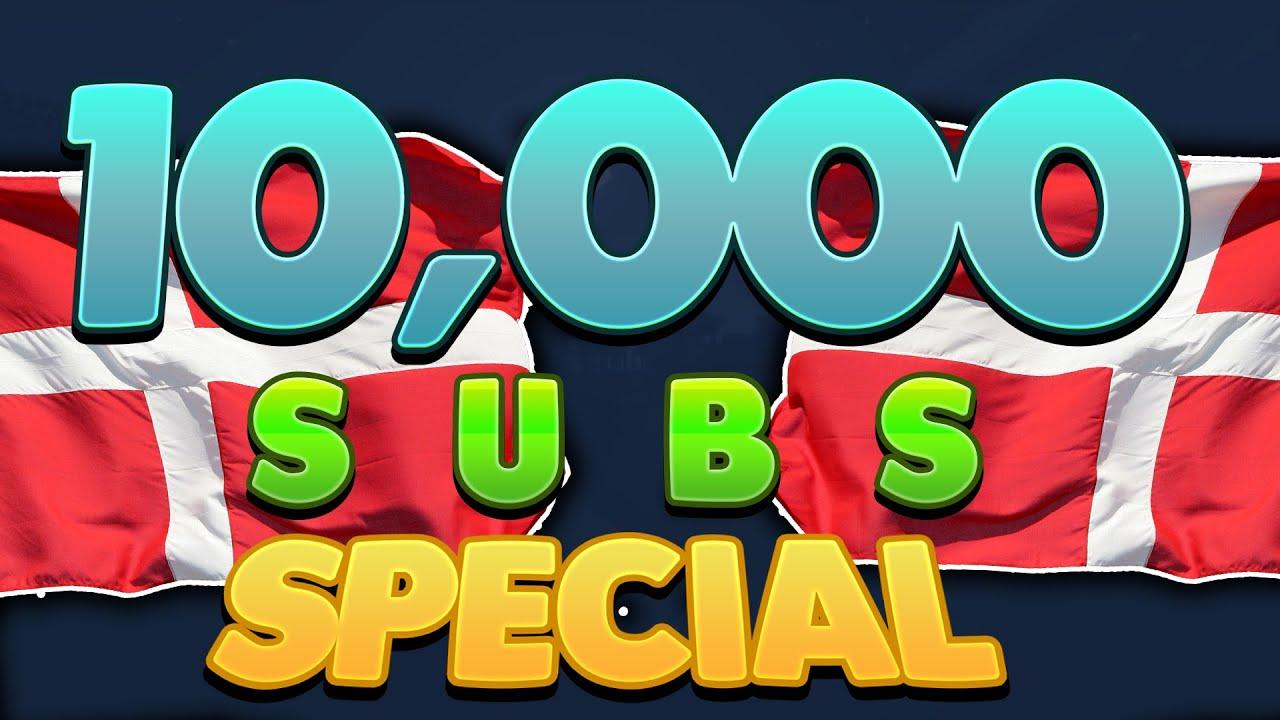 10,000 SUBSCRIBERS! - YouTube