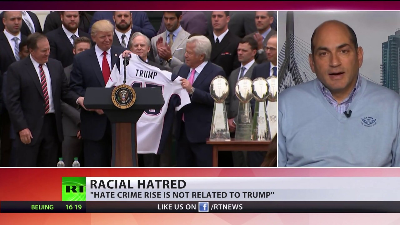 hate crimes on the rise in usa Alexis okeowo on the spike in hate crimes that followed donald trump's election to the presidency, as reported by the southern poverty law center and adl.