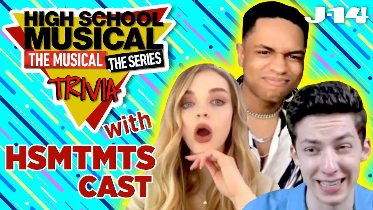 HSMTMTS Trivia With Andrew Barth Feldman, Roman Banks and Olivia Rose Keegan