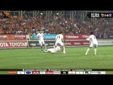 [Toyota Thai League 2016] Chiangrai United 1-0 Chainat Hornbill [3 April 2016]