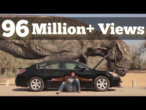 T-Rex Chase - Jurassic Park Fan Movie
