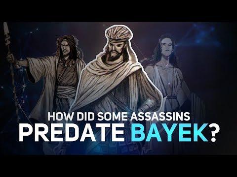 Assassin's Creed - Why Do Some Assassins Predate Bayek
