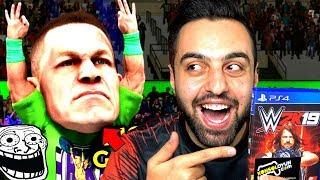YENİ KOCA KAFALAR MODU ! WWE2K19 ROYAL RUMBLE !