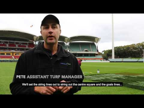 Adelaide Oval Game Day Preparation