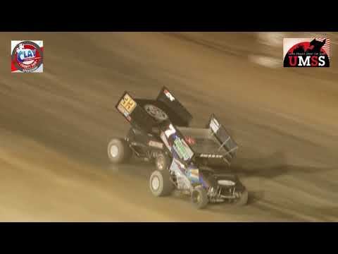 Sept. 15, 2017 UMSS Sprints Clay County Fair Speedway