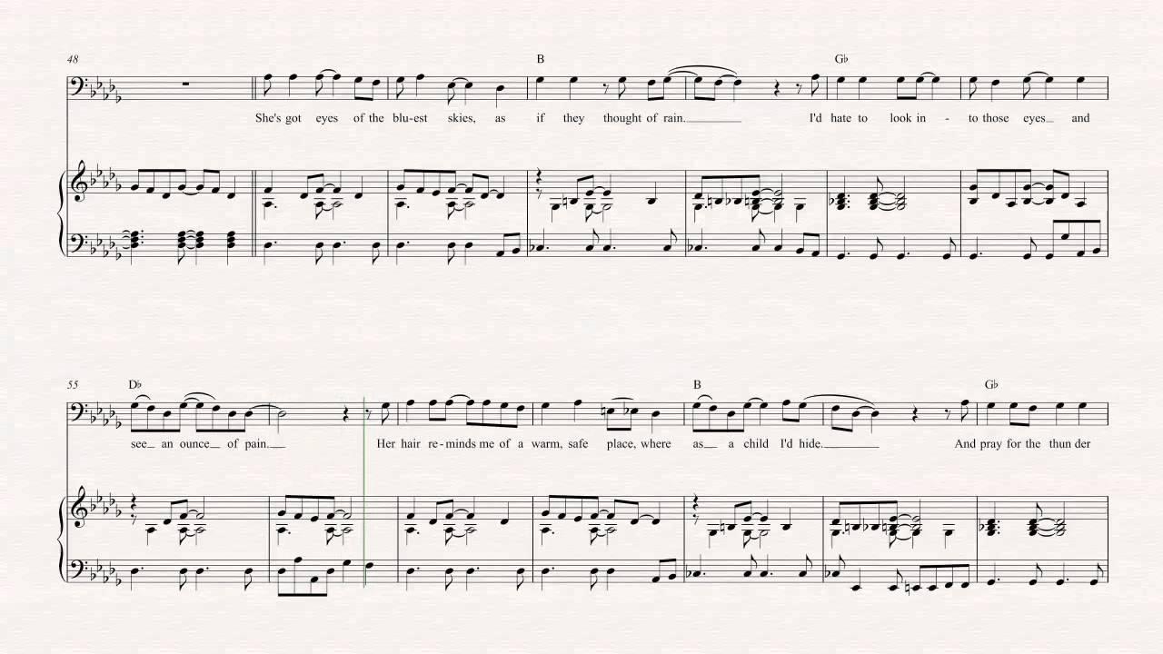 Roses - OutKast - Grátis Partitura de piano