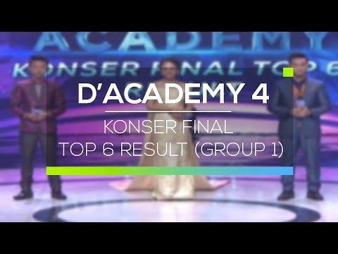 Highlight D'Academy 4 - Konser Final Top 6 Result (Group 1)