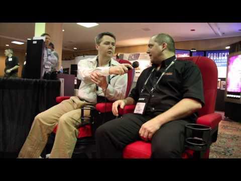Showest 2010 - 06 - D-Box Motion CODE / Chair