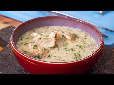 Сливочный суп из рыбы лучше, чем финская уха и готовится за 20 минут.