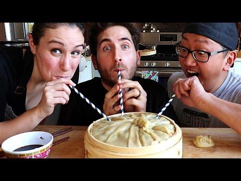The World's Largest Soup Dumpling DIY