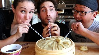 The World's Largest Soup Dumpling DIY