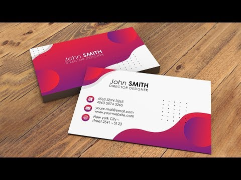 Creative Business Card Design - Photoshop Tutorials thumbnail