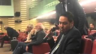 هشام رحيل يحرج ما يسمى بالبوليساريو وصنيعتها الجزائر في ندوة بالبرلمان الفرنسي