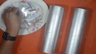 El trabajo más fácil e increíble que he hecho con tubos de cartón y CDs.Manualidades fáciles