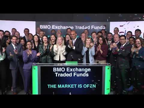 BMO Exchange Traded Funds Opens Toronto Stock Exchange, January 21, 2020