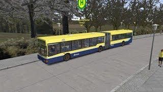 Omsi 2 New Berlin 2.1 route 147 Man NG272 Dublin Bus