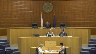 20/04/2018 - Συνεδρία Ολομέλειας της Βουλής thumbnail