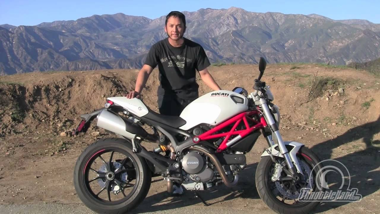 2011 ducati 796 bike review - youtube