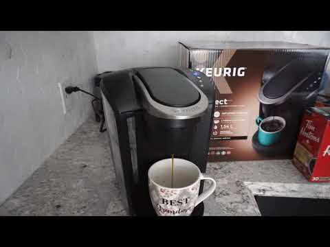 Keurig K-Select Single Serve Coffee Maker Review + Demo + Purchase