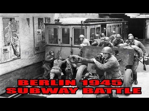 Battle in the Subway- Berlin 1945 - WW2