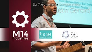 The Three Marketing Strategies of Bae - Justin Gerrard, Bae & if(we) @M14 Dating Conference