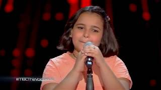 The Voice Kids ..أشرقت أحمد   مرحلة الصوت وبس   اما براوة