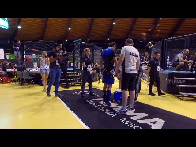 Союз ММА России на чемпионате Европы по ММА 2019, день 1/Russian MMA Union on European MMA Champ
