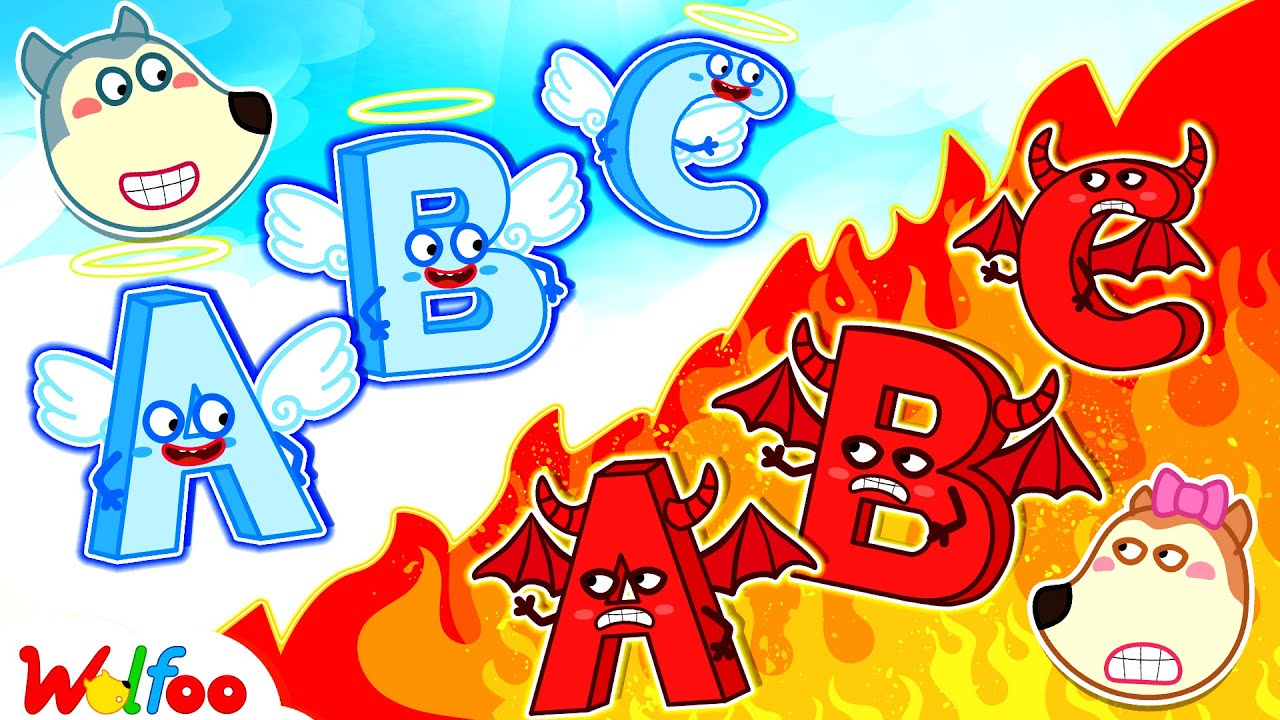 Download ABC Alphabet Is Angel or Demon? Wolfoo Learns the Alphabet with Lucy   Wolfoo Family Kids Cartoon