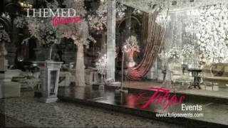 Best Pakistani Wedding Walima Setup Decor By Tulips Events Management