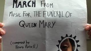 March from Music for the Funeral of Queen Mary (An Historic Accordion Cover)