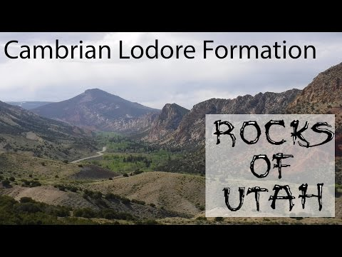 Cambrian Lodore Formation - Rocks of Utah