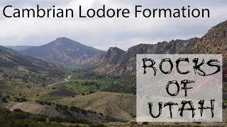 Cambrian Lodore Formation - Rocks of Utah