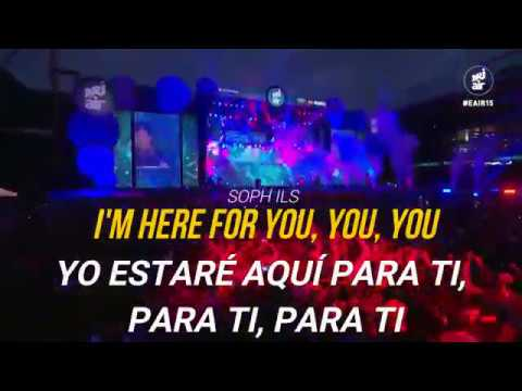 Kygo - Here for you Ft. Ella Henderson subtitulado al español , Live at Energy Air 2015
