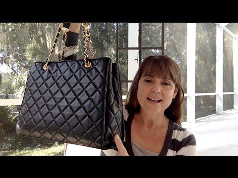 b959a1e6e947 Michael Kors Susannah Tote Review - YouTube