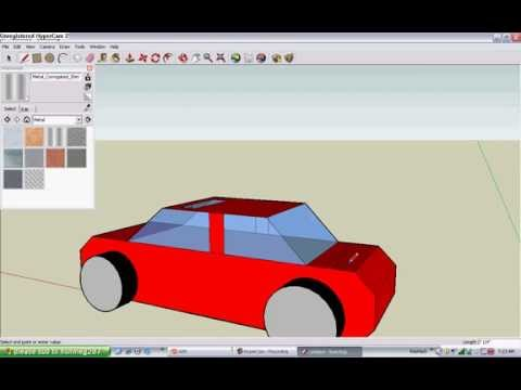 ... -Download] Google-sketchup-tutorial-how-to-do-a-car-in-3d-part-4-1-2