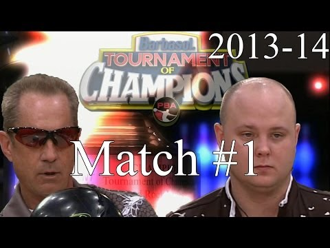 2013 -14 Barbasol PBA Tournament Of Champions Match #1