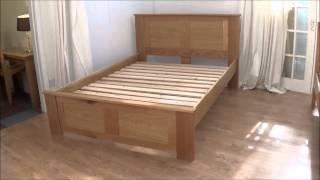 Balmoral Bed In Oak