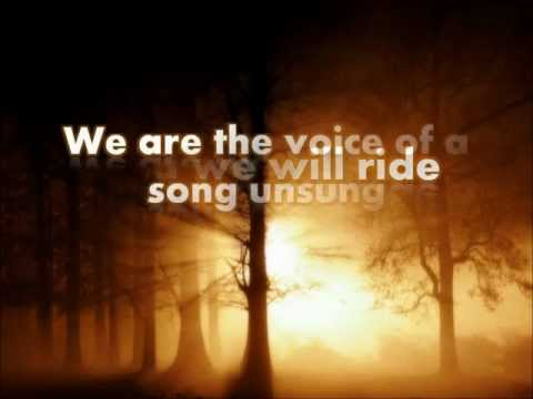 We Are - Thousand Foot Krutch (Lyrics)