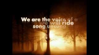 Repeat youtube video We Are - Thousand Foot Krutch (Lyrics)