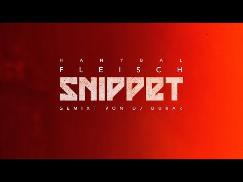 Hanybal - FLEISCH [Snippet] on YouTube