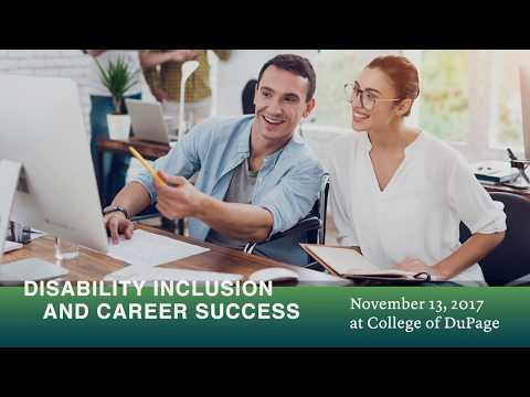 College of DuPage: Disability Inclusion and Career Success Event