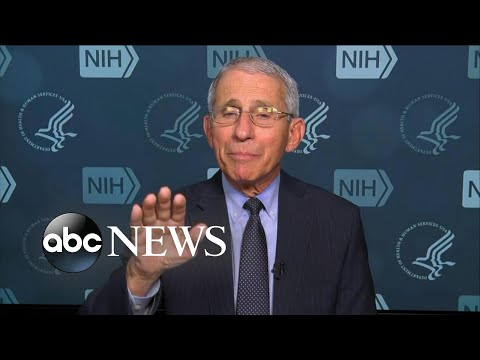 Dr. Fauci Explains New Coronavirus Timeline Through April L ABC News