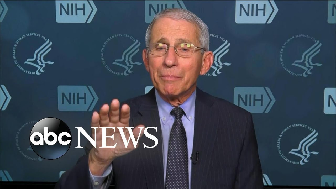 Dr. Fauci explains new coronavirus timeline through April l ABC ...