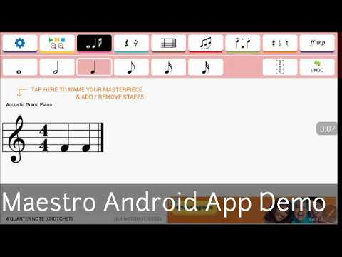 Maestro Android Music App Demo