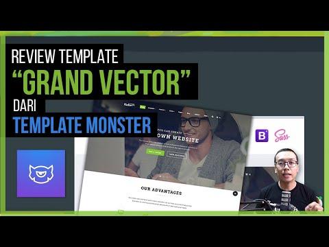 Review Template | GRAND VECTOR (dari TemplateMonster)