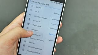 Re-Arrange Quick Toggles in notification tray or setting options in settings app in MEIZU FlyMe OS