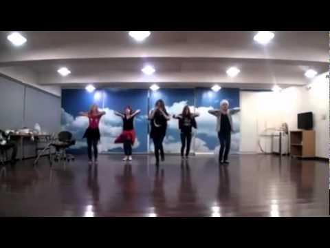 f(x) - Gangsta Boy mirrored dance practice