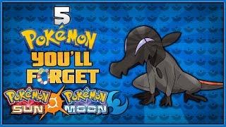 5 Pokémon Sun and Moon Pokémon You Might Forget About!