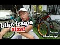 Long ride tips series: Is your bike frame SIZE correct for you? Basic frame geometry (Part 1of8)