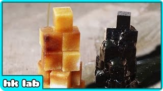 Try This For Your Chemistry Project at School (Sugar Cubes + Sulphuric Acid)